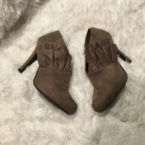 Cato Suede Booties